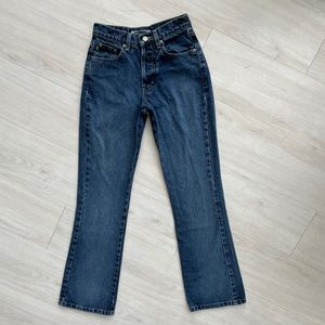 Vintage Blue Asphalt jeans flare high rise 24/25